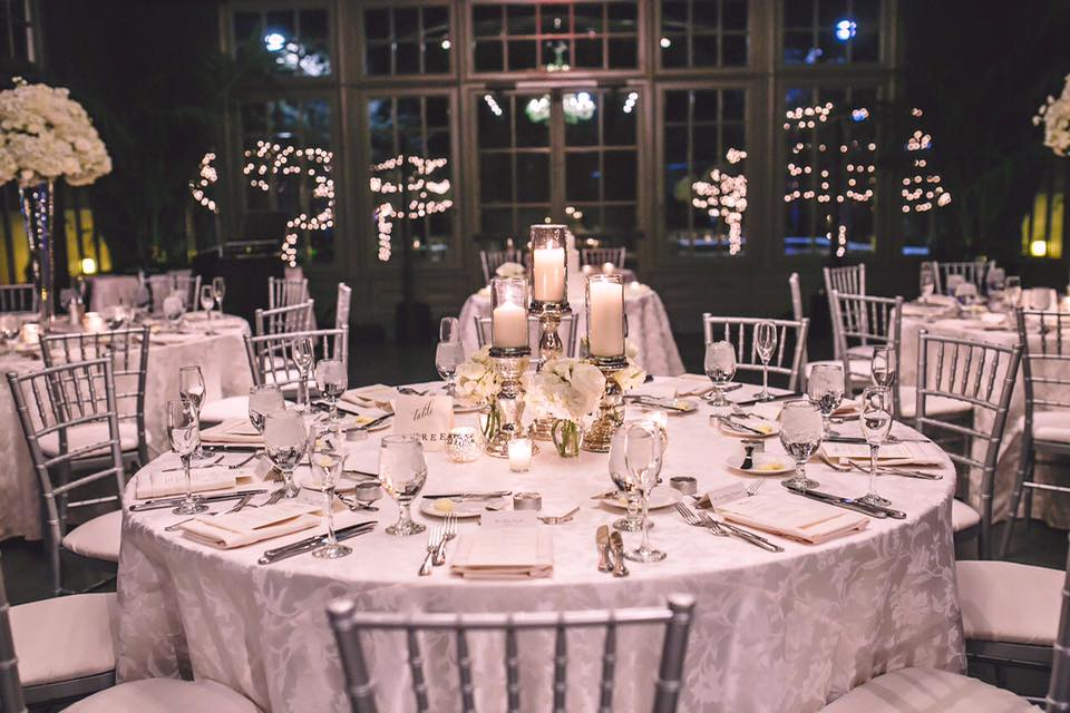 The Conservatory Table Setting