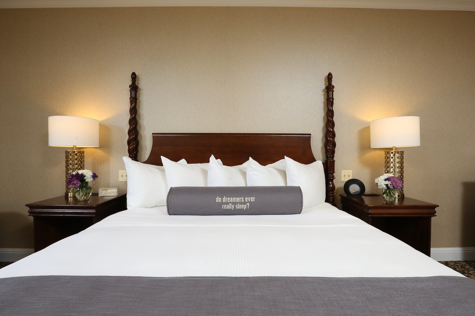 Guest room at Royal Park Hotel
