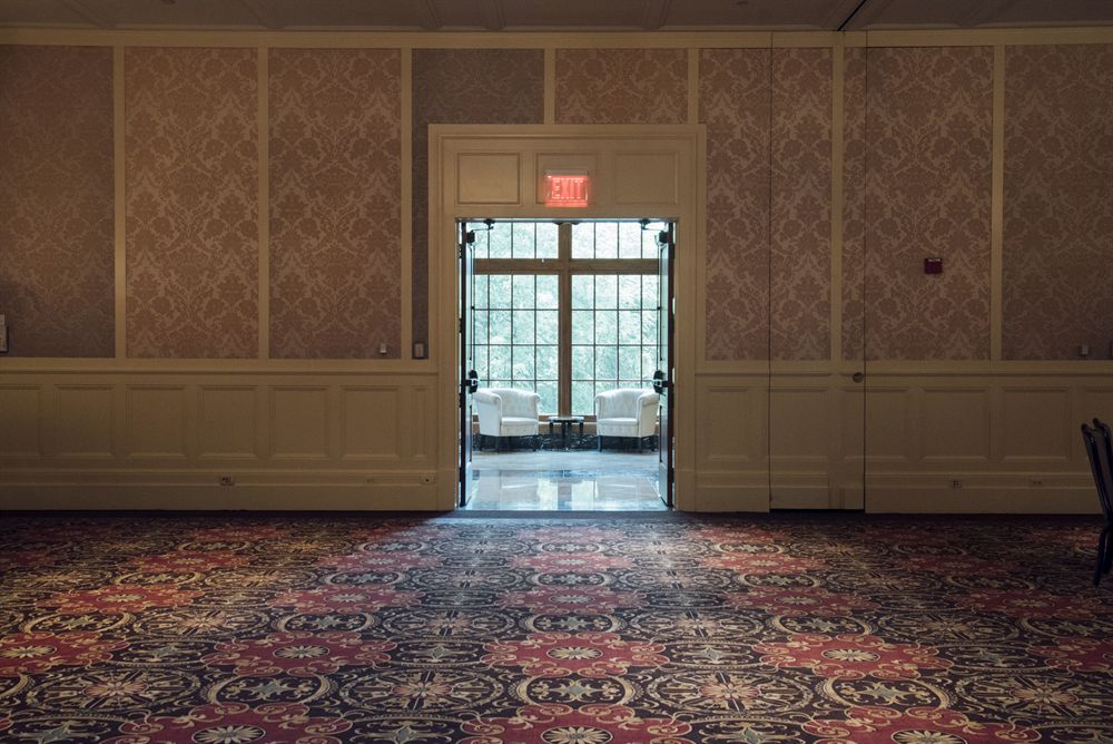 View of Gallery Windows from ballroom
