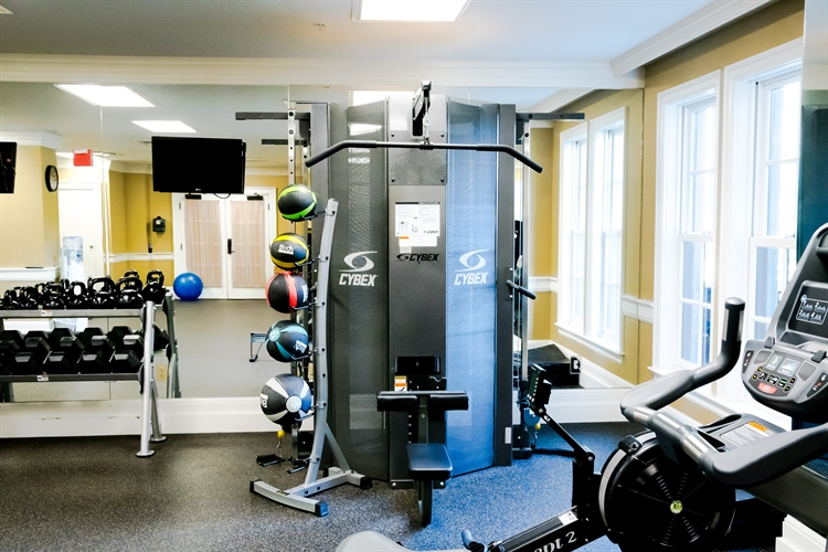 Fitness Center Machines at Royal Park Hotel in Rochester MI