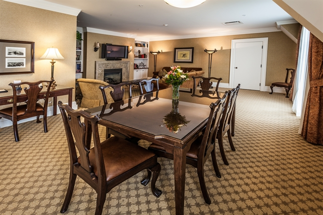 Royal Park's Hotel Suite Dining Table in Rochester Michigan