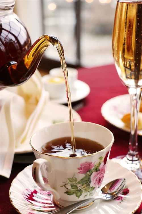 Royal Tea at our Rochester Hotel