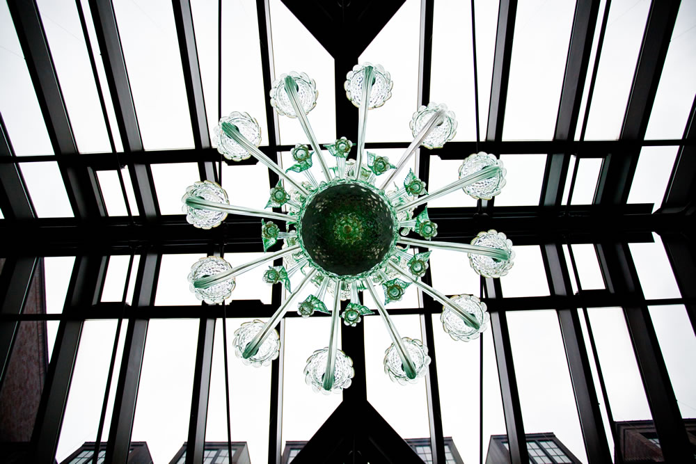 Royal Park Hotel's Conservatory Chandelier in Rochester Michigan