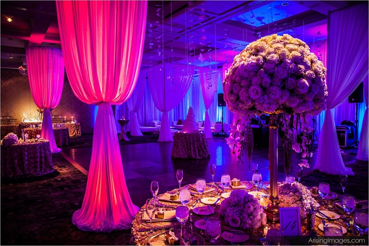 Party Complete with Lighting and Videography at Royal Park Hotel in Rochester Michigan